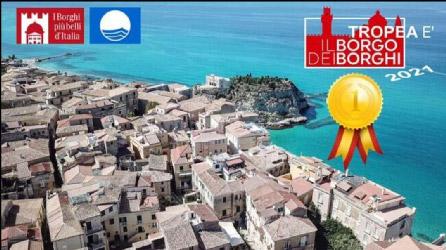 Tropea: borgo dei borghi 2021 e bandiera blu